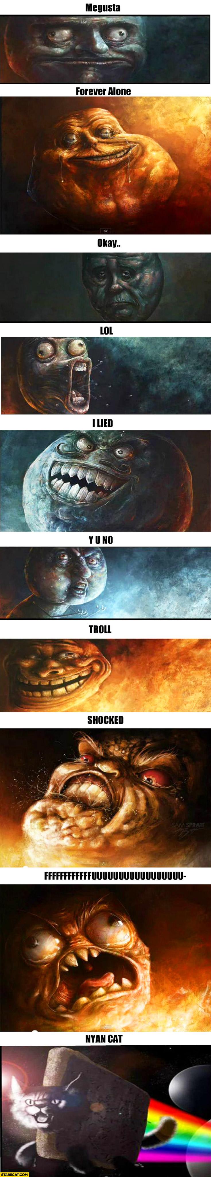 10 realistic memes megusta forever alone
