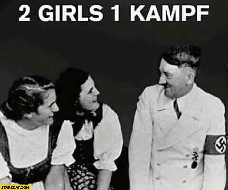 2 girls 1 kampf adolf hitler