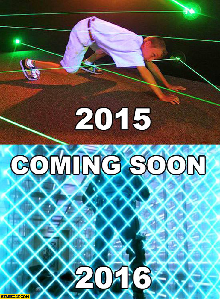 2015 coming soon 2016 laser dance