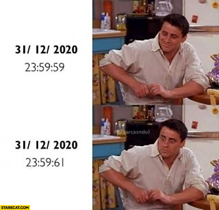 2020 new year date wont change to 2021 Joey Friends