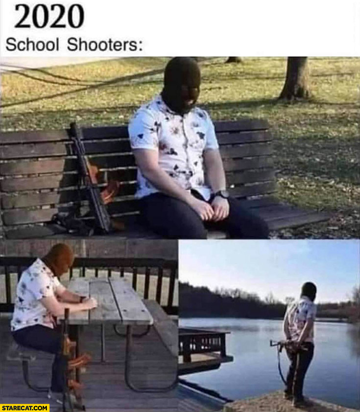 2020 school shooters waiting disappointed