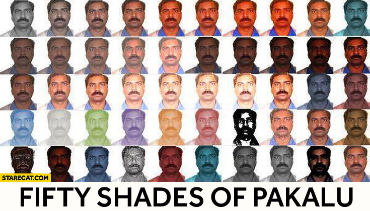 50 shades of Pakalu