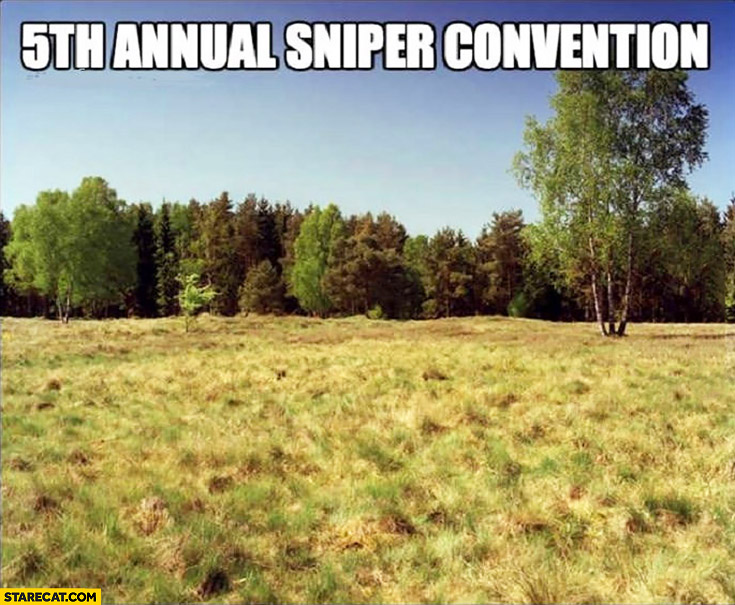 5th annual sniper convention stealth can't be seen