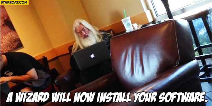 A wizard will now install your software