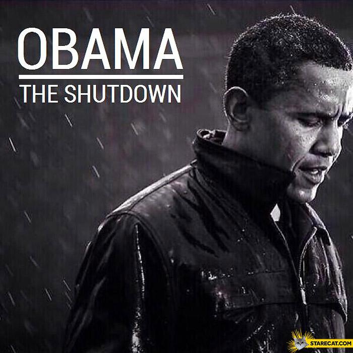 Album Barack Obama the shutdown