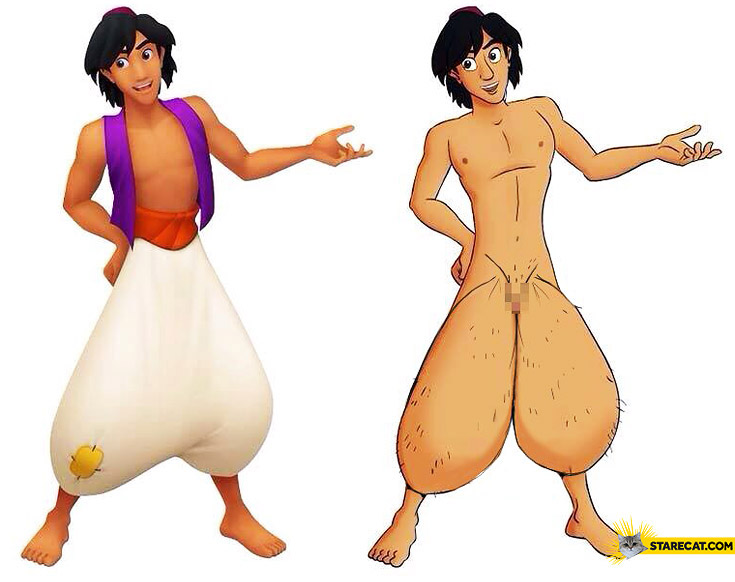 Alladin without pants