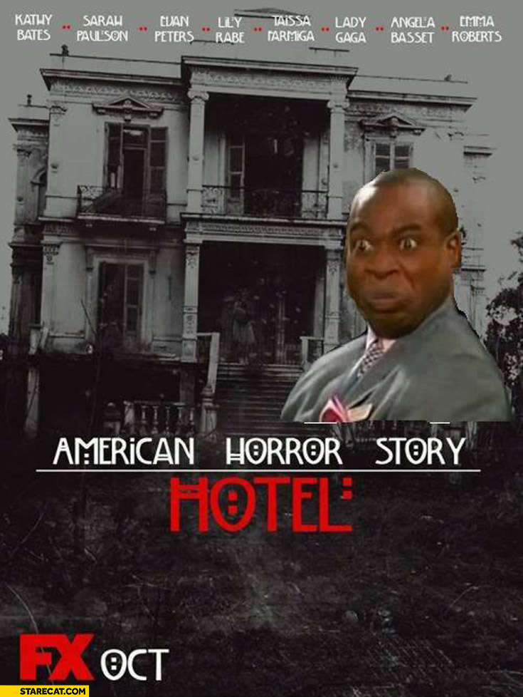 American Horror Story Hotel no murdering in my lobby