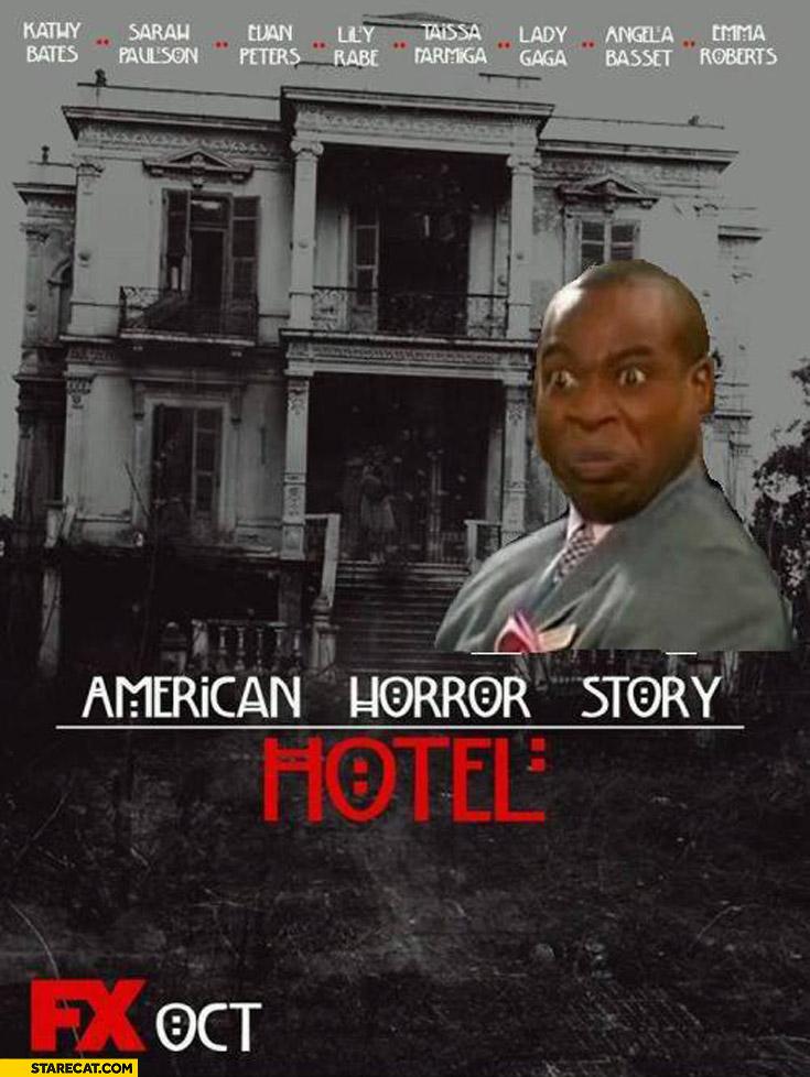 American Horror Story Hotel no murdering in my lobby