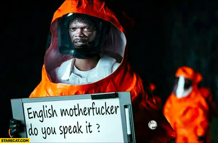 Arrival Oscars Pulp Fiction English motherfcker, do you speak it?