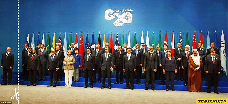 Australia C20 Putin cut out