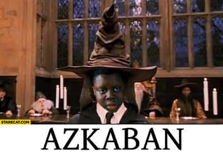 Azkaban Bem Harry Potter meme