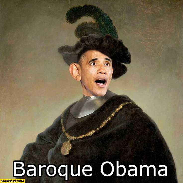Baroque Obama Barack