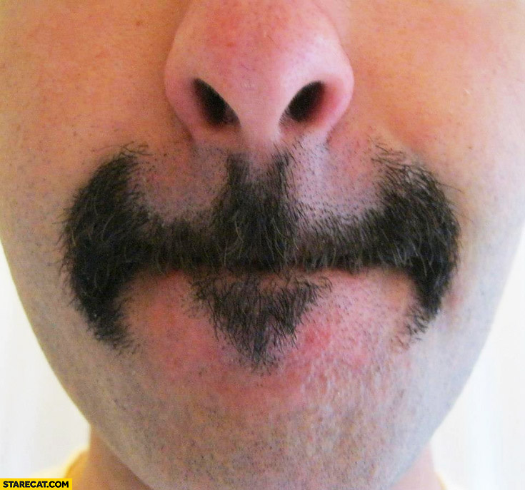 Batman moustache