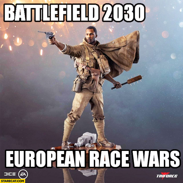 Battlefield 2030 European race wars