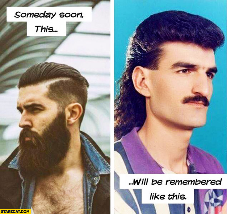 Beard lumbersexual someday soon will be remembered like this