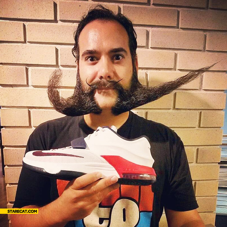 Beard Nike Logo