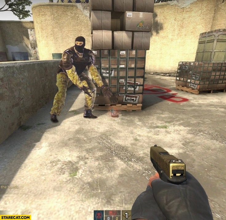Belarus policeman soldier Counter-Strike bomb defuse photoshopped
