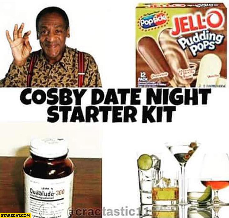 Bill Cosby date night starter kit