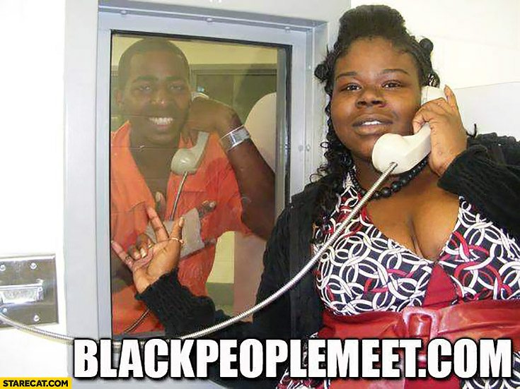 Black people meet dot com prison