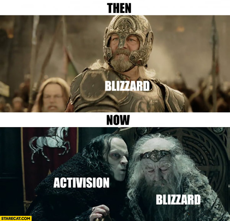 Blizzard then vs Blizzard now Activision