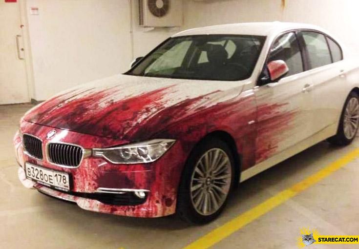 Bloody BMW