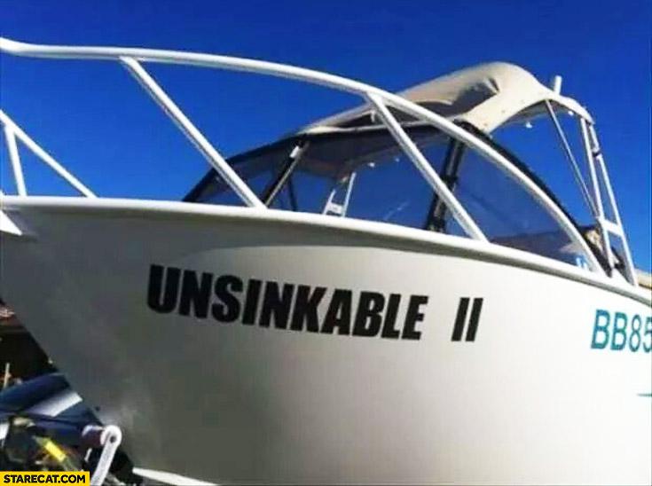 Boat Unsinkable 2