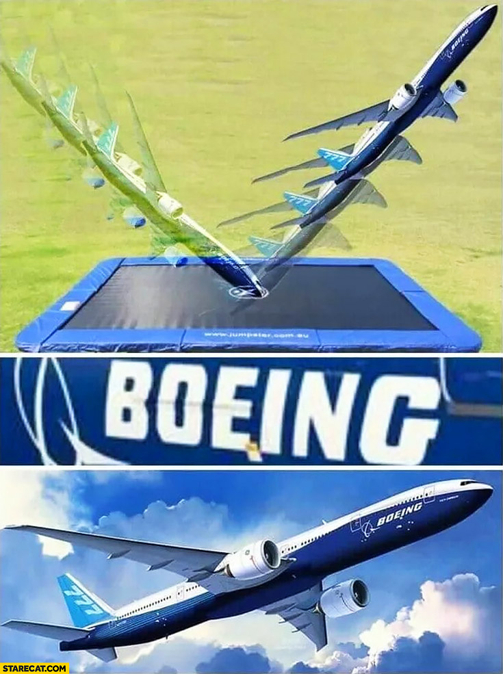 Boeing name how it's spelled sounds like