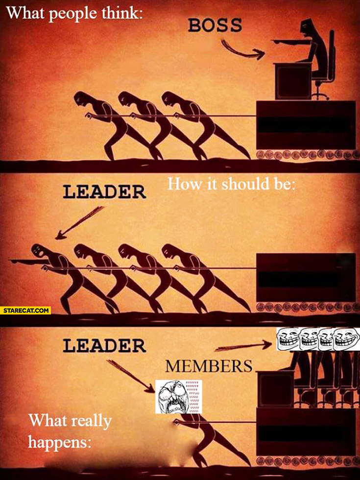 Boss leader what really happens