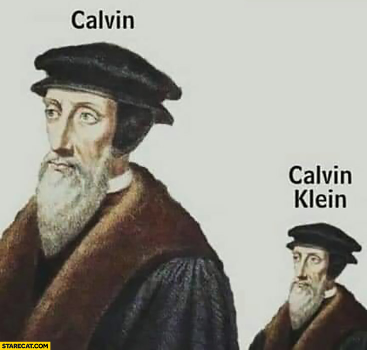 Calvin, Calvin Klein smaller