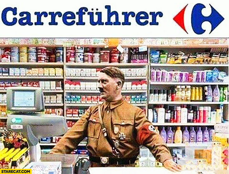 Carrefuhrer hitler Carrefour