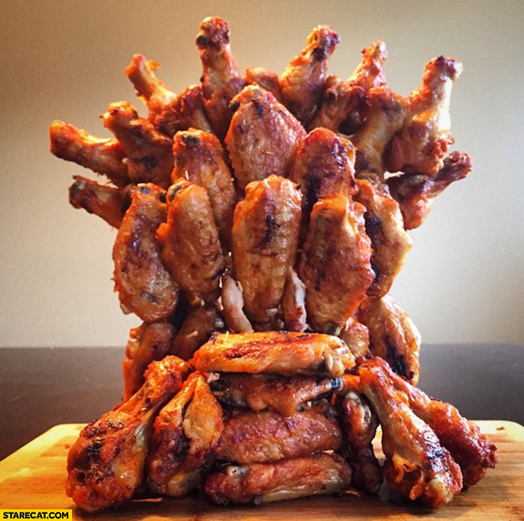 Chicken wing of thrones