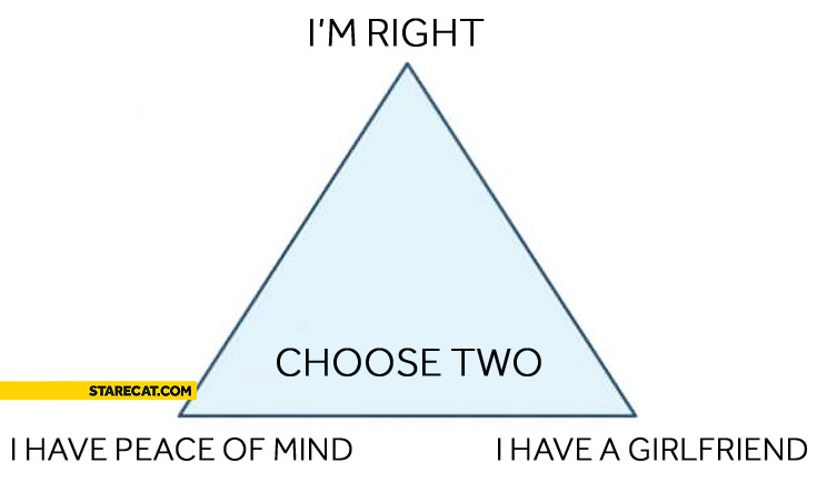 Choose two triangle