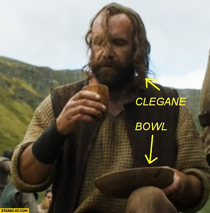 Clegane bowl Game of Thrones