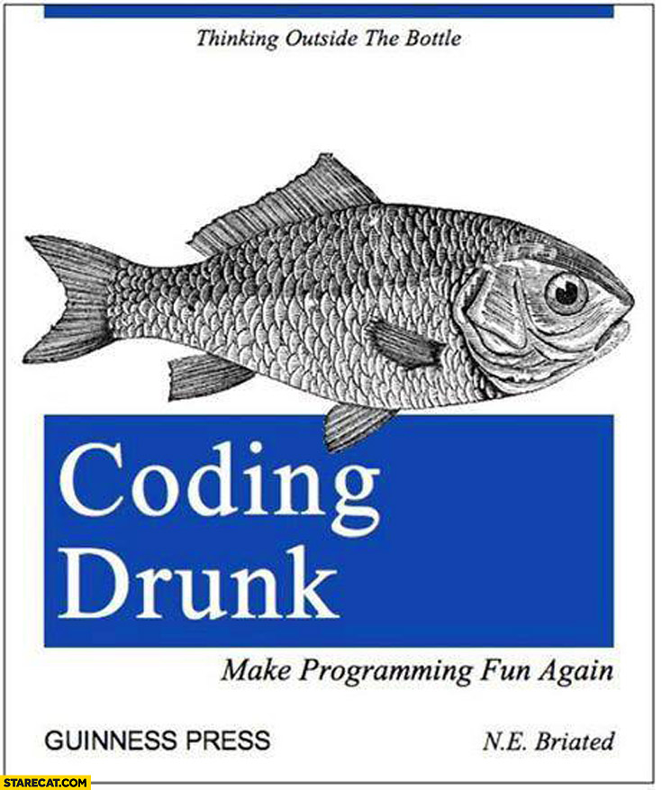 Coding drunk make programming fun again book