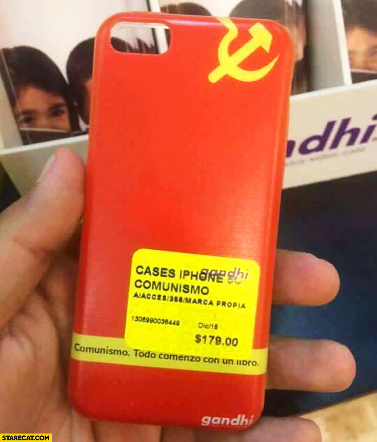 Communism iPhone case