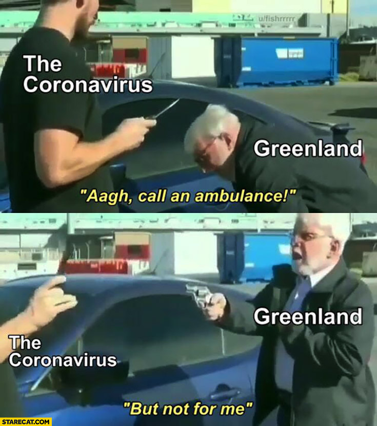 Corona virus Greenland: call an ambulance, but not for me armed with a gun