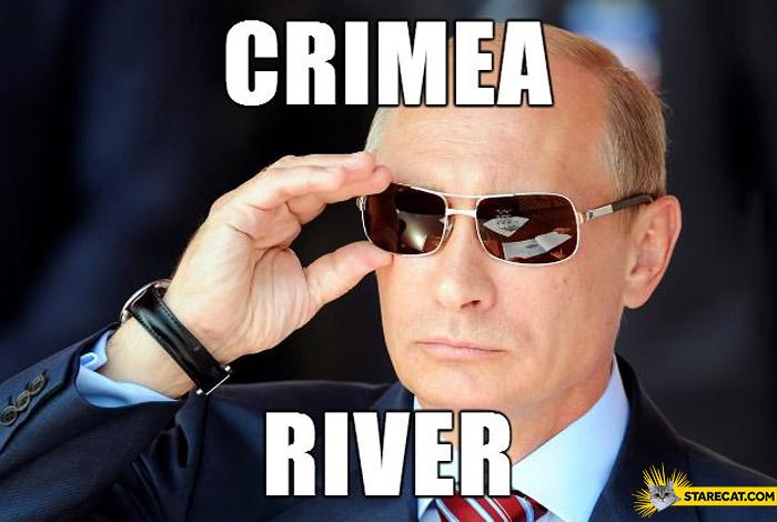 Crimea River Putin