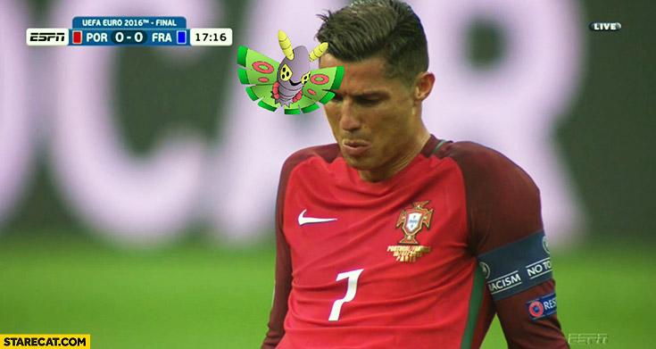 Cristiano Ronaldo moth Pokemon GO