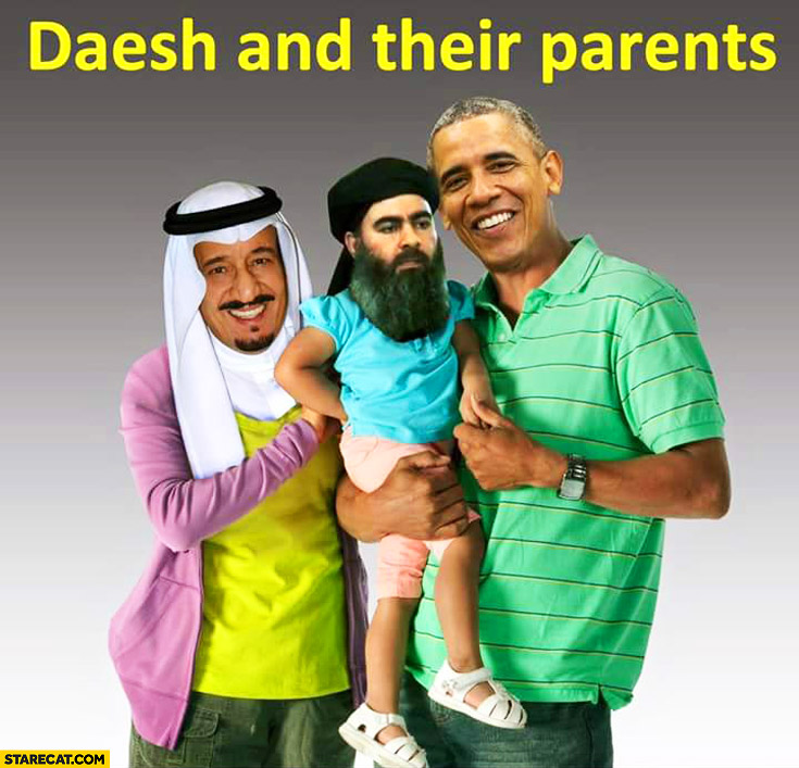 Daesh and their parents Obama
