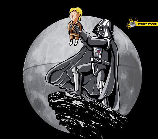 Darth Vader like Lion King