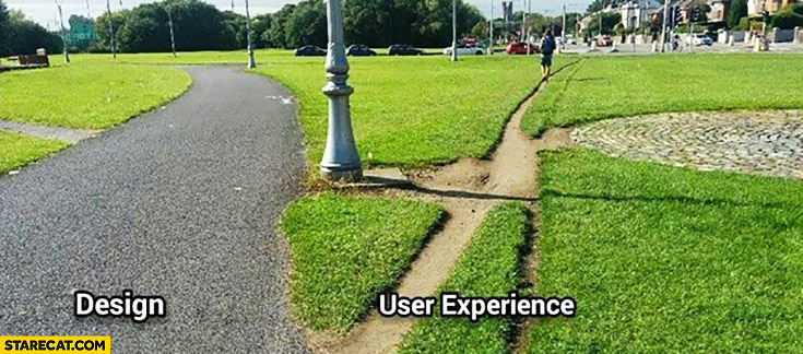Design vs user experience paths creative comparison