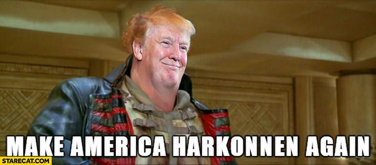 Donald Trump Baron Vladimir Harkonnen Dune