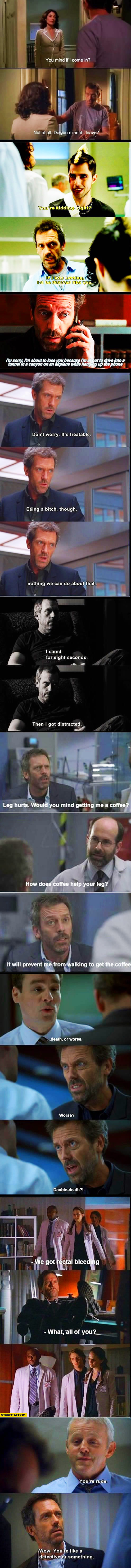 Dr House best quotes moments
