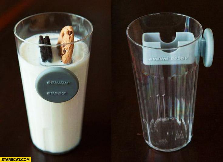 Dunkin' buddy cakes in milk creative gadget