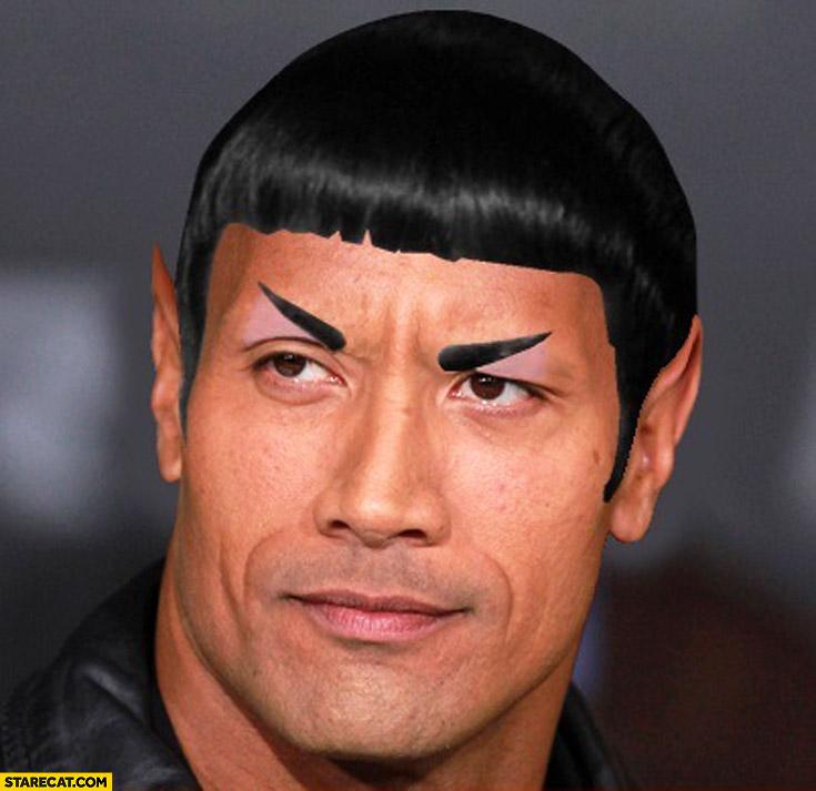 Dwayne the Spock Johnson