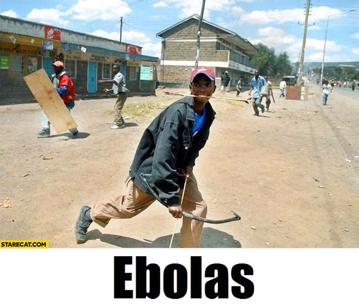 Ebolas black archer kid legolas