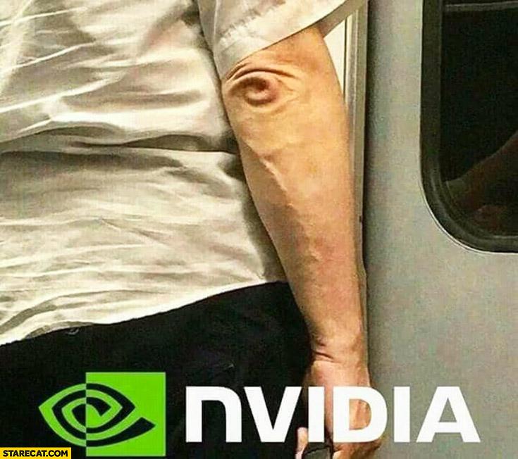 Elbow looks like nVidia logo