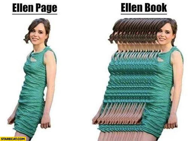 Ellen Page Ellen Book