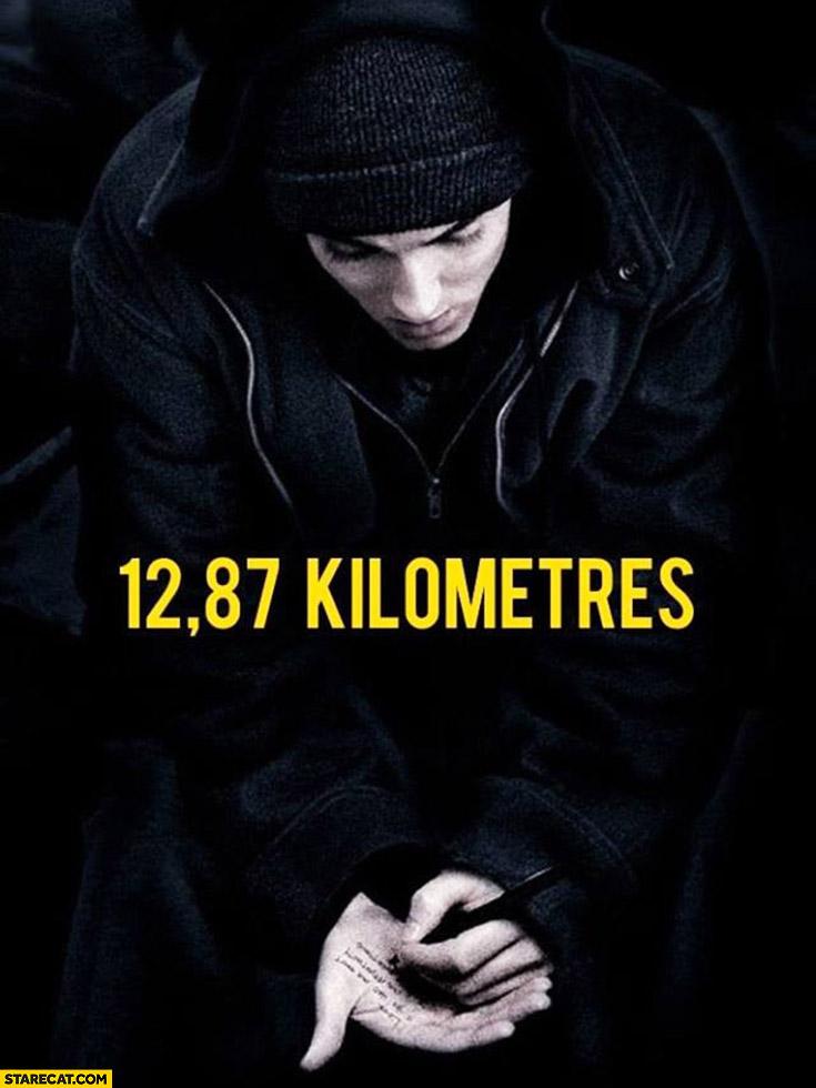 Eminem 8 mile 12,87 kilometres