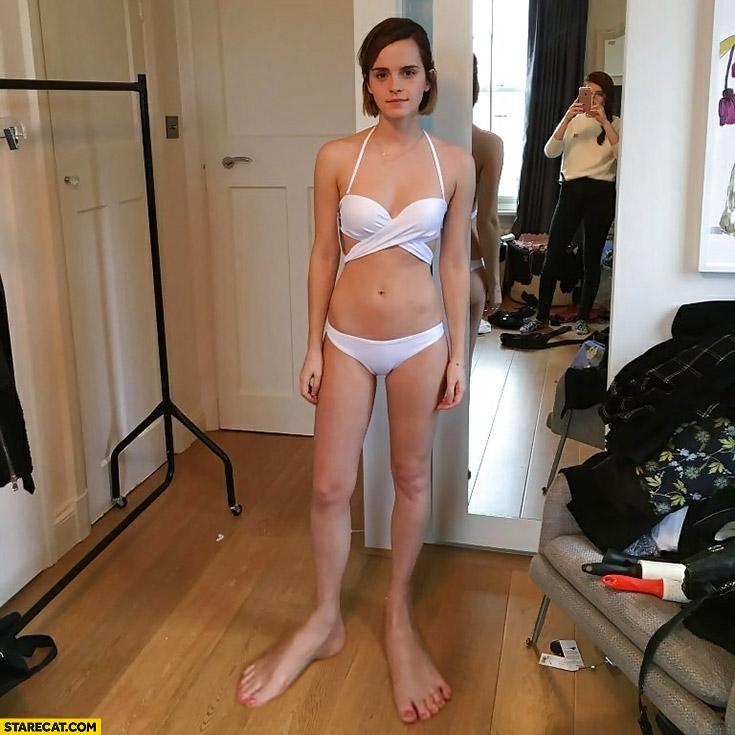 Emma Watson huge feet photoshopped